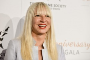 Sia arrives at The Humane Society Of The United States 60th Anniversary Benefit Gala on Saturday, March 29, 2014, in Beverly Hills, Calif. (Photo by Richard Shotwell/Invision/AP)